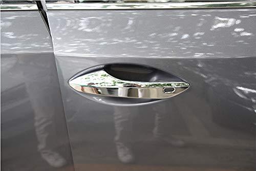Accessoires de Voiture en Plastique ABS poignées de Porte Garniture Autocollants polonais Argent chromé pour RX200t RX350 RX450h RX200 NX200t NX300 NX300h 2016 2017
