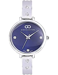 Inara By Gio Collection Analog Blue Dial Women Watch- G2099-11