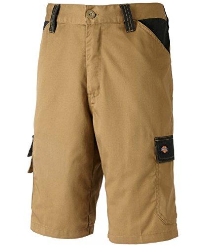 Dickies Everyday 24/7 Shorts, Two Tone, 240g/m², verschiedene Farben, optimale Passform, Arbeitsshorts passend zu SH2007 Shirts (52, - Khaki Hose Herren