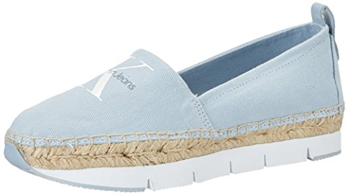 Calvin Klein Jeans Genna Canvas, Sneakers Basses Femme, Rose Bonbon