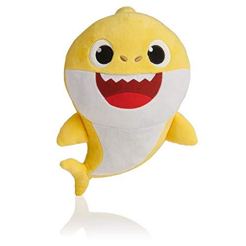 Pinkfong Weichem Plüsch Baby Shark Toy Weichem Plüsch Shark Cartoon Baby Mit Klang und Musik (Gelb)