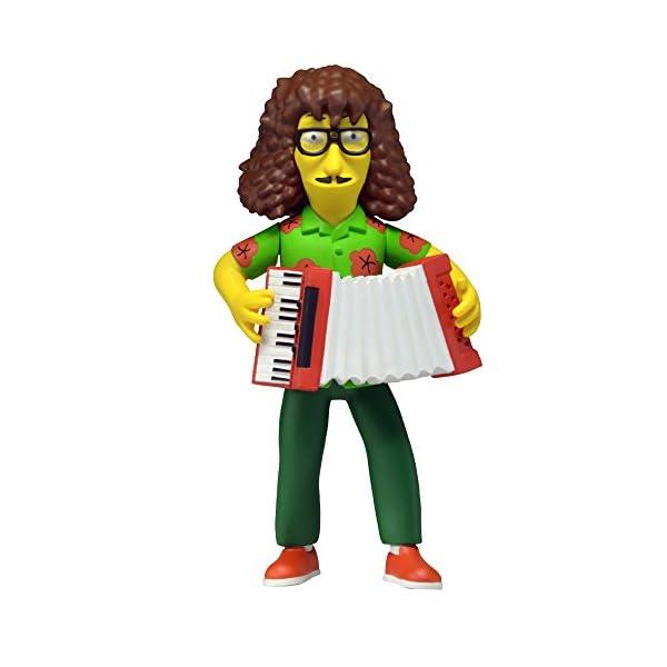 NECA- Simpsons Weird Al Figura, 634482160633, 13 cm 1