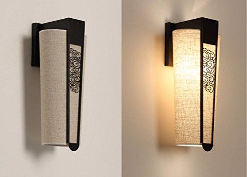 Antiquariato cinese lampada da parete a luce del monitor al posto