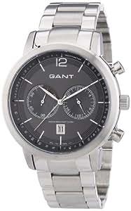 GANT - W10943 - Montre Homme - Quartz Analogique - Chronomètre - Bracelet Acier Inoxydable Argent