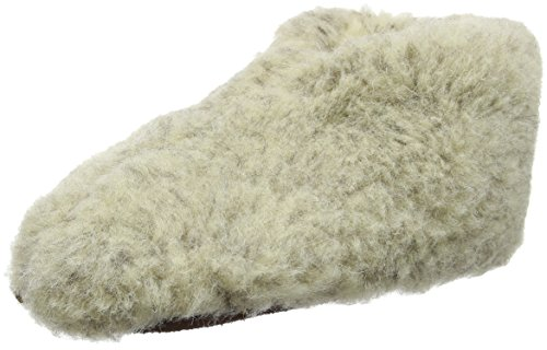 Woolsies Unisex-Erwachsene Wappa Hausschuhe Grau