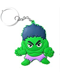 Blue Aura WITH BOX Double Sided The Hulk PVC Rubber Keychain Collectible Gifting Bile Keychain Car Keychain