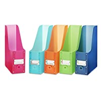 Whitmor Magazine Storage Desk Organizers - Multicolored (Set of 5)