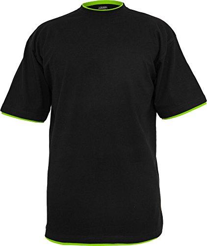 Urban Classics Herren T-Shirt oversize Black/Green