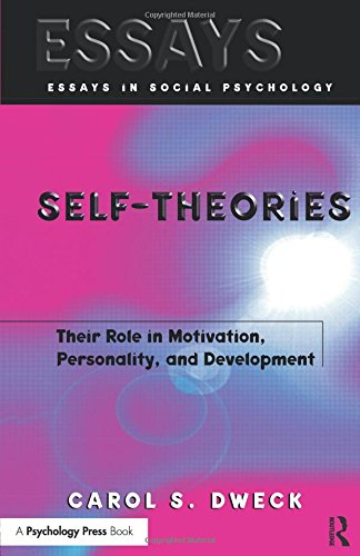 Pdf Download Self Theories Their Role In Motivation Personality