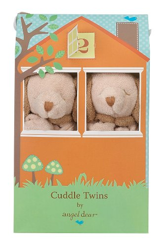 Angel Dear Baby Blankie Cuddle Twin Set-Puppy