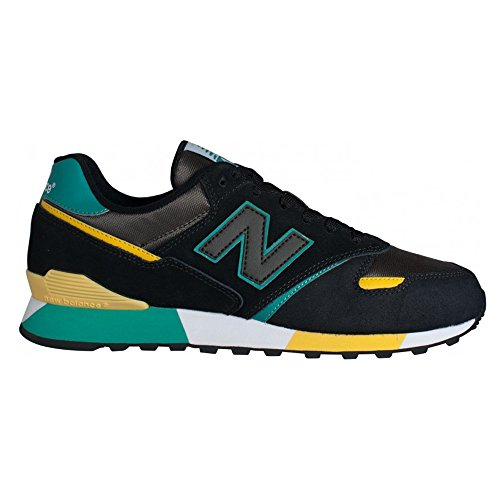 new-balance-446-womens-suede-synthetic-trainers-black-green-405-eu