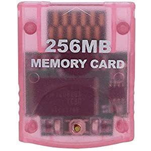 RUITROLIKER 256MB Memory Card Speicherkarte für Wii GameCube NGC Konsole
