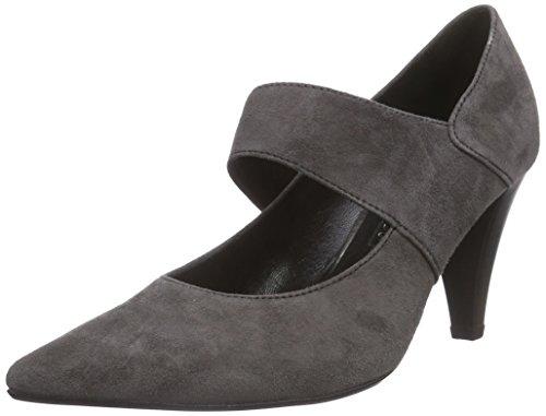 Gabor Shoes 31.282 Damen Knöchelriemchen Pumps ,Grau (zinn 19) ,39 EU