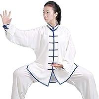 SCDXJ Tai Chi Ropa Mujeres Artes Marciales Uniforme Adultos Chino Viento Kung Fu Ropa,B-XXL