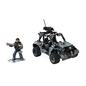 Mega DXB63 Mattel Bloks DXB63-Collectors Call of Duty ATV Ground Recon, Baukästen