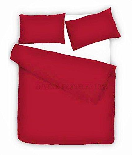 Divine textiles® Fácil cuidado de percal Imperial Adams–Juego de funda de edredón,...