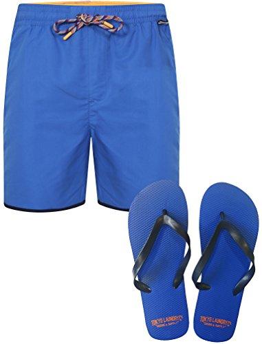 Boxer Kostüm Männlich (Tokyo Laundry Portola Swim Shorts with Flip Flops in)
