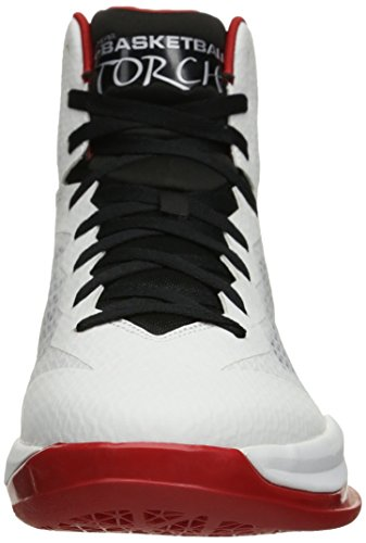 Skechers Performance Go Basketball Torch Chaussures White/Black/Red