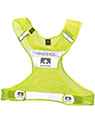 Nathan LightStreak LED Reflective Vest Safety Yellow