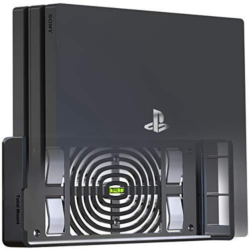 rung für Sony PlayStation 4 Pro Konsole mit Hitze Management und Sicherheits-Klip Schwarz ()