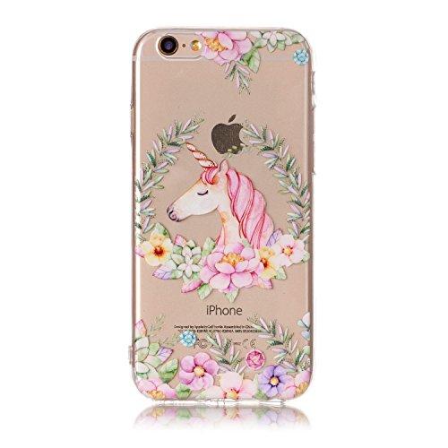 Cover iPhone 6/ 6s, Sportfun morbido protettiva TPU Custodia Case in silicone per iPhone 6/ 6s (modello 11) modello 9