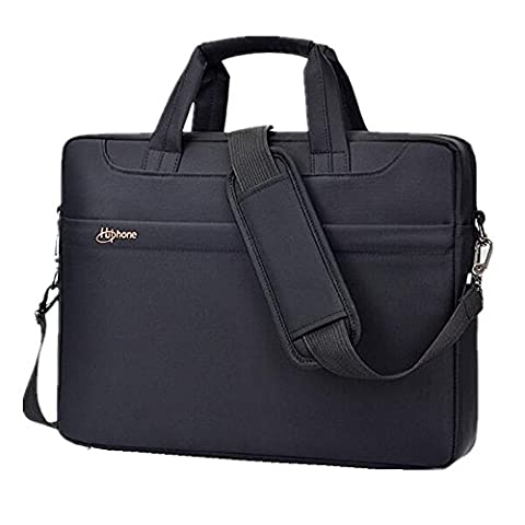 Laptop Bag Oxford Waterproof Shock-proof Shoulder Bag Multi-Compartment Messenger Bag Handbag Briefcase Sleeve Carrying Case With Detachable Shoulder Strap For 15-15.6 Inch Laptop/ Macbook/ Tablet