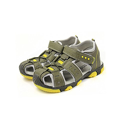 Gloria JR Kinder Outdoor Athletic Sandale Für Jungen Kinder Armeegrün(Army Green)