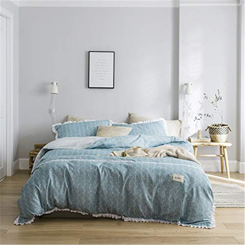BFMBCH Home Bedroom New Simple Single Double Cotton Sheets Sheets G 150cm*200cm