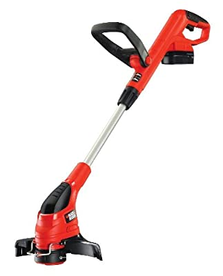 Black + Decker GLC1825N 18V Cordless Strimmer Ni-Cad Battery Gear Drive Trim and Edge Reflex Auto Line Feed