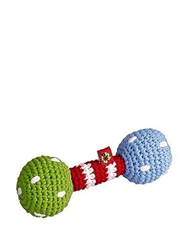 Die spiegelburg crocheté-hochet pour bébé motif unique