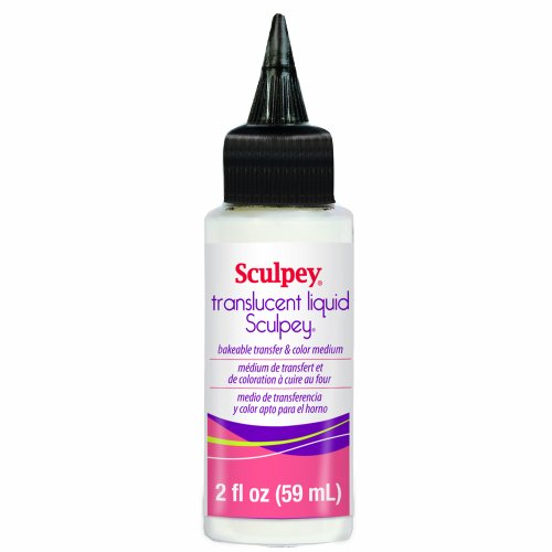 Sculpey liquid Polymer Ton, 59 ml (Translucent Liquid Sculpey)