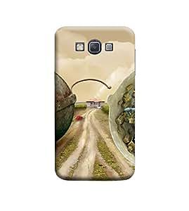 Ebby Premium Printed 3D Designer Back Case Cover For Samsung A7 (Premium Designer Cae)