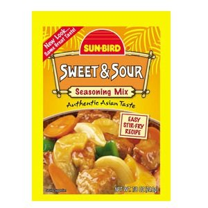 Sunbird Sweet & Sour Seasoning Mix (24x0.88 Oz)