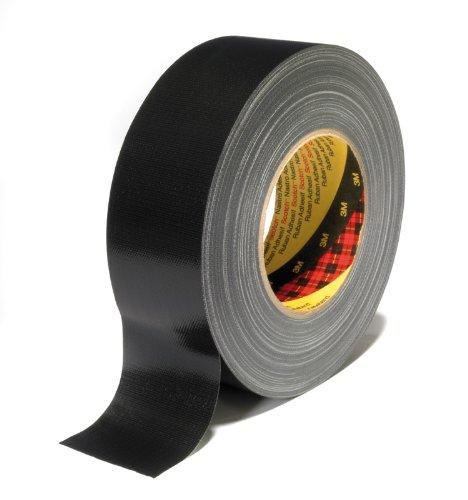 Scotch Gewebeklebeband, 25 mm x 50 m, 1 Rolle, schwarz