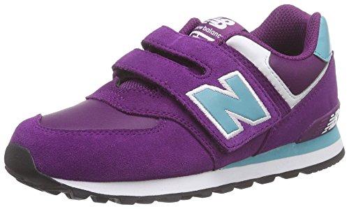 New Balance - Kg574, Sneaker Bambina Blu (Bleu (Pby Blue/Purple))