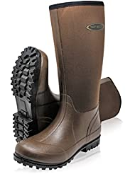 Dirt Boot® Neoprene Wellington Muck Boots Ladies Mens Brown