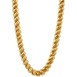 Charms Handmade Gold Plated Chain Necklace For Boys & Men