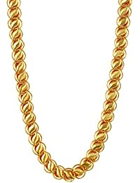 Charms Chain for Men (Golden)(ch-032ef)
