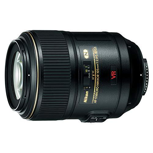 Nikon AF-S Micro 105 mm 1:2,8G VR Makro-Objektiv (62 mm Filtergewinde, bildstabilisiert) Schwarz