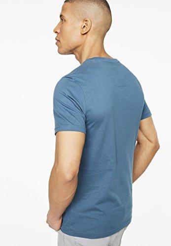 ARMEDANGELS Herren T-Shirts aus Bio-Baumwolle - James The Flow - FAIRTRADE, GOTS, ORGANIC, CERES-008 Legion Blue