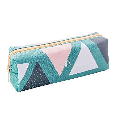 (Boomly Mäppchen Tragbar Federmäppchen Wasserdicht Federtasche Stationäre Box Make-up Kosmetiktasche Reißverschluss Bleistifthalter Geschenke Tasche Für Teenager Jungs Mädchen 17.5 * 4.5 * 6CM)