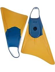 Weapon Swimfins aleta de buceo azul/amarillo Talla S
