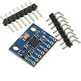 Aihasd MPU-6050 3 Ejes 6DOF gyroscope Acelerómetro Módulo GY-521 Sensor para Arduino