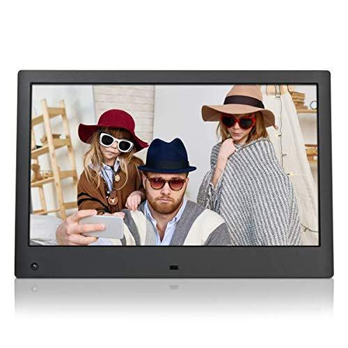 NIX Advance Digitaler Bilderrahmen 13 Zoll X13C. IPS Display. Elektronischer Fotorahmen mit Uhr/Kalender-Funktion. Auto On/Off (Hu-Motion Sensor). Inkl. 8GB USB-Stick und Fernbedienung