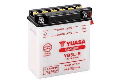 Batteria YUASA yb5l–B, 12V/5ah (dimensioni: 121X 61X 131) per Yamaha XT600(PS) anno di costruzione 1987