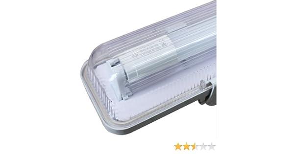 Plafoniere Neon Da Esterno : Lineteckled® a01.002.12 plafoniera singola per tubo neon led t8 120