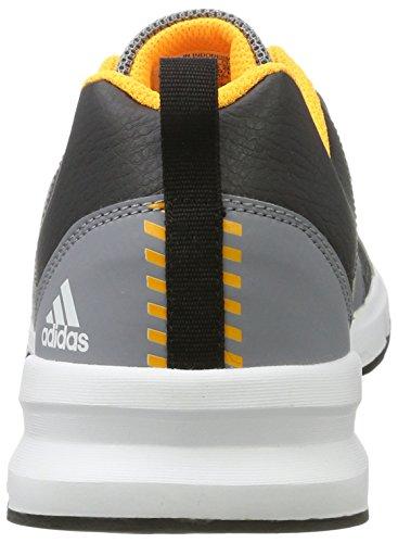 adidas Essential Star 3 M, Chaussures de Fitness Homme, Noir Multicolore (Dgsogr/ftwwht/sogold)