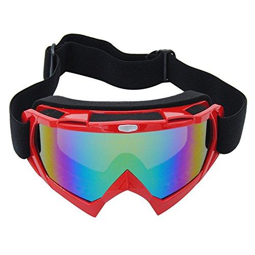 Coface PU UV400 windundurchlässige Kratzfeste Fahrrad Wrap Schutzbrillen Schutzbrille für Motocross ATV Fahrräder