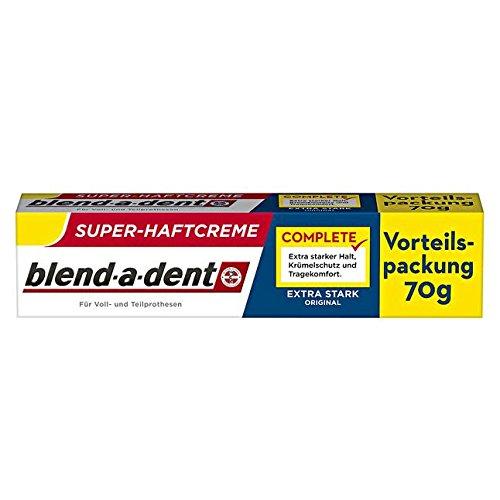 Blend-a-dent Complete Original Haftcreme Extra Stark, 70g