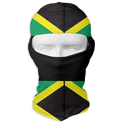 Jamaican Flag Winter Cycling Full Face Mask Windproof Balaclava Hood for Men and Women New4 (Hüte Jamaican)